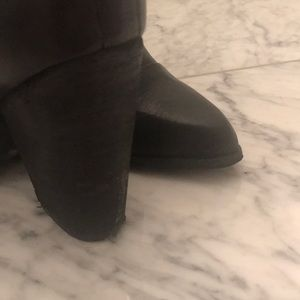 Joe's Jeans Shoes - Black joe's jeans size 7 boot bootie leather